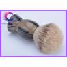 China Mens Grooming Silvertip Badger Shaving Brush / Badger Hair Shaving Brush wholesale