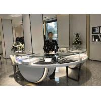 China Non - Toxic Material Showroom Display Cases / Store Display Fixtures Modern Style wholesale