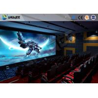China Pneumatic System 5D Movie Theater 6 DOF Platform With Special  Environment wholesale