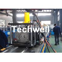 China Steel Sheet Upright Rack Roll Forming Machine for Storage Shelf Profile wholesale