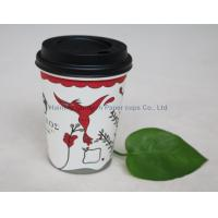China Paper cups for hot drinks disposable coffee cup single wall hot cup wholesale