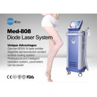 China Germany 6 Bar Handpiece Laser Diode 808 Nm Hair Removal Machine , Laser Depilation Machine wholesale