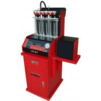 China Auto Ultrasonic Carbon Remover Fuel Injector Cleaning Machine , 220v / 50 Hz,6 cylinders wholesale