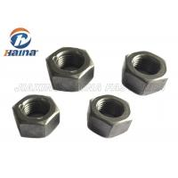 "China Metric ASTM Hex Head Nuts Gr2 Plain Finish 9/16""-18 3/8""-24 Prevailing Torque Type Hexagon Top Lock Nut wholesale"