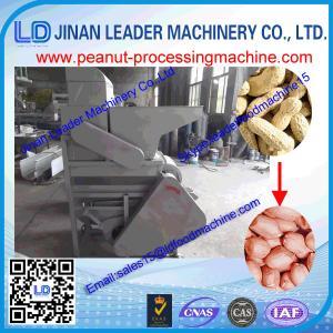 China china manufacturing food machinery small peanut sheller/peanut shelling machine with facto wholesale