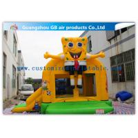 China Spongebob Inflatable Bounce House Bouncer For Kids Jumping PVC Tarpaulin wholesale