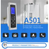 China AC 12V Touch Screen Shower Control , Shower Control Panel Dimension 6.7*20.1cm wholesale