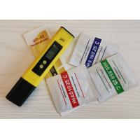 China Digital PH Pen / PH Meter China With Backlight And Automatic Calibration wholesale