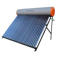 China CE certified compact unpressurized rooftop solar water heater wholesale