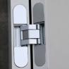 China zinc alloy flush doors 3D adjustable concealed hinge 60kg wholesale