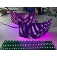 China P8mm Flexible Led Screen Smd Module / Video Creative Background Foldable Led Display wholesale