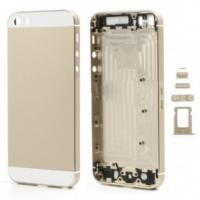 China for iPhone 5s High quality Full Housing Faceplates Buttons SIM Card Tray - Champagne Gold wholesale