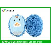 China Cute Car Cleaning Mitt Colorful , Microfiber Dusting Mitt Super Soft AD0185 wholesale