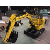 China Simple 1.5km/H Mini Excavator Machine / Digging Machine For Farm Weight 800kg wholesale