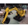 China SJ10 Mini Excavator Machine Double Drum Mini Crawler Excavator For Small Work Area 950kgs wholesale