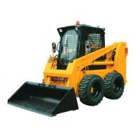 China Strong Power Mini Skid Steer Loader Quick Hitch 235F For Small Working Site on sale