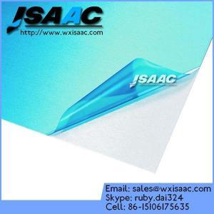 China Aluminum alloy plate sheet blue PE protective film on sale