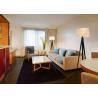Buy cheap Hotel Bedroom Living Room Sofa Set High Density Foam Seat Custom Size from wholesalers