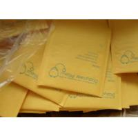 China Yellow Kraft Bubble Mailer ,Kraft Paper Bubble Padded Mailers on sale