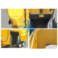 China Oversized Animal Feed Mixer Wagons For Cattle Farms 9600kgs Loading Capacity wholesale