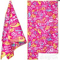 China Quick Dry Super Absorbent Lightweight Microfiber Beach Towels For Travel wholesale