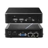 Buy cheap N2930 mini aluminum chassis network firewall security industrial pc high from wholesalers