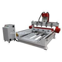 Quality 4 Spindles 4 Rotary Axis Cylinder Flat Wood Carving Machine with NK105 Control for sale