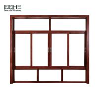 China Thermal Break Aluminum Sliding Glass Windows For Residential Silicone Sealant Seal on sale