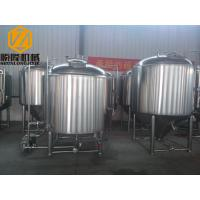 China 2000 Liter Beer Brewing System , Stainless Steel Beer Making System PLC Avaiable wholesale