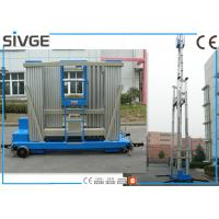 China Reliable 20 M Aluminum Work Platform Self - Propelled For Shopping Centers wholesale