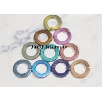 China Multi - Color Titanium Washers Din 2093 Standard Chemical Resistance wholesale