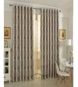 China 140 * 245cm Insulated Blackout Window Curtains / valance , room darkening window curtains wholesale