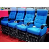 China Customized 4D Cinema System , Dynamic Hydraulic Motion Movie Theater wholesale