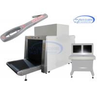 Buy cheap 100*80 Cm L-Shape Generator X Ray Luggage Scanner With Free Handheld Metal Detector from wholesalers