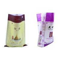 China Lightweight 10Kg 25Kg Polypropylene Packaging Bags , PP Rice Bags Non - Toxic wholesale