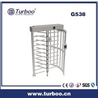 China Card Reader 304 Stainless Steel Turnstiles , Electronic Turnstile Gates wholesale