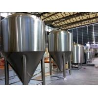 Refrigerated Stainless Steel Conical Fermenter 1000L Large Brewing Equipment