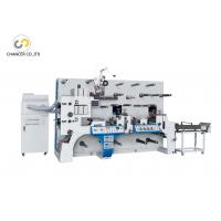 China Automatic two station rotary label die cutting flexo printing machine wholesale