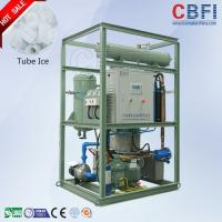 China 5 Tons Capacity Ice Tube Machine , Outdoor Ice Maker Power Saving wholesale