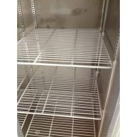 Quality Kitchen / Grocery Commercial Upright Freezer 4 Doors Double Temperature With for sale