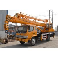 China Truck Mounted Knuckle Boom Cranes With Aerial Working Platform High Safety Coefficient wholesale
