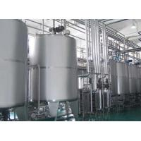 China Low Noise Small Scale Yoghurt Production Equipment Adjustable Speed 4000 L/H on sale