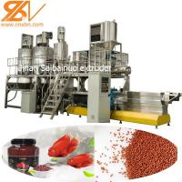 China Aquatic Fish Feed Processing Machine Staineless Steel Food Grade 201 on sale