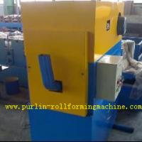 China 80mm / 100mm / 120mm Round Roll Making Machine for Rain Water Drainage Pipe wholesale