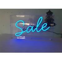 Buy cheap Advertising Display LED Neon Signs Decorative Acrylic LED Neon Light Letters from wholesalers