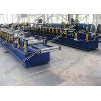 China Galvanized Steel Purlin Roll Forming Machine Size 9300 * 1400 * 1800mm wholesale
