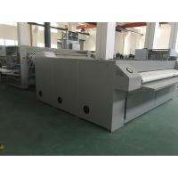 China 1 - 5 Clyinder Roller Automatic Flatwork Ironing Machine 2800mm For Hotel Bedsheet wholesale