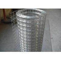 China Hot Dip Galvanized Welded Wire Mesh Roll For Wall Protect Warm Or Fence wholesale