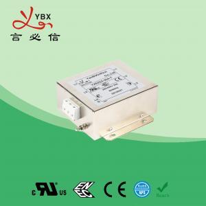 China Yanbixin 8 Amp Electric RFI Power Filter , RFI Power Line Filter For Locomotive wholesale