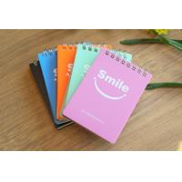 China Colored printed custom notebook , spiral notebook , kraft leather cover paper notebook wholesale